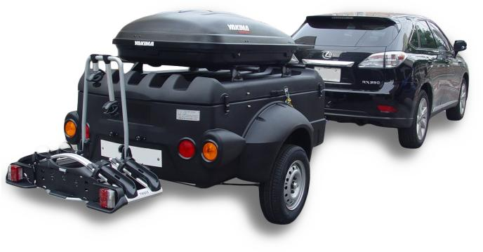 Versa Sport Cargo Box And Roof Rack Trailers